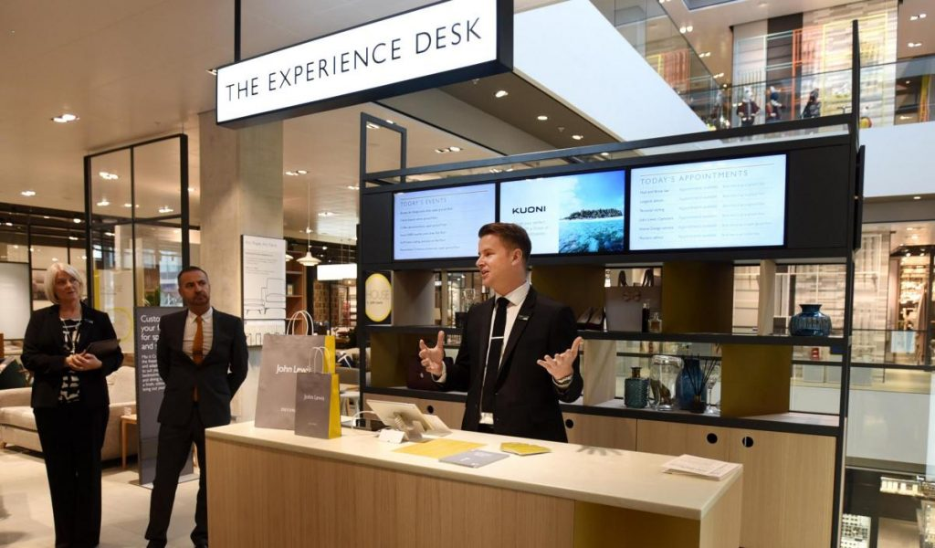 "John Lewis even has an actual dedicated ""Experience Desk"" at its new store in Oxford"