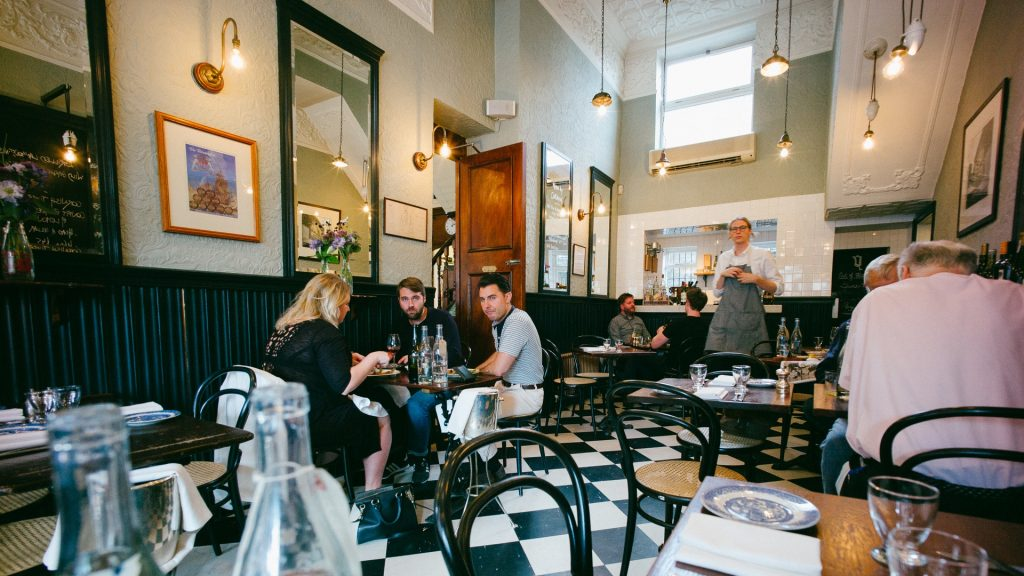 A wine list as simply and as perfectly put together as the food at the Quality Chop House