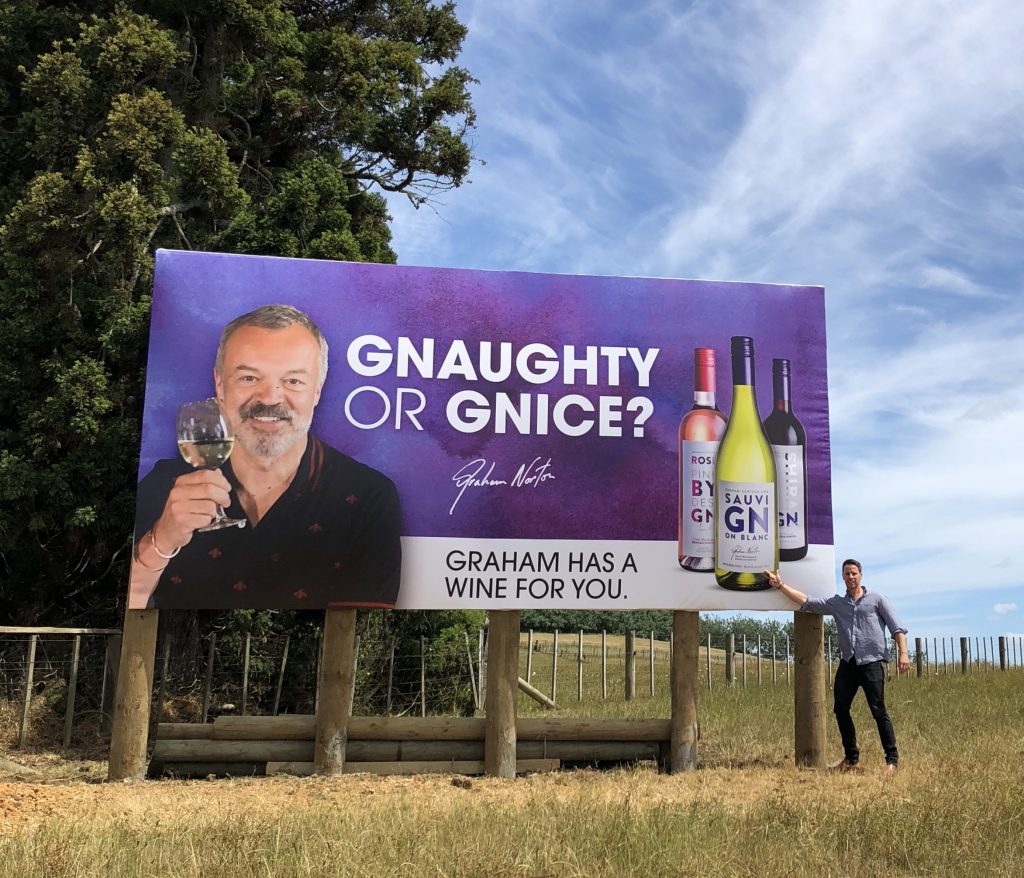 Graham Norton: not just a chat show host and comedian, but 90 point blending winemaker