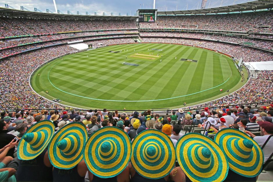 For many the Bucket List test match. Watching the Ashes in Melbourne at the MCG for the Boxing Day test