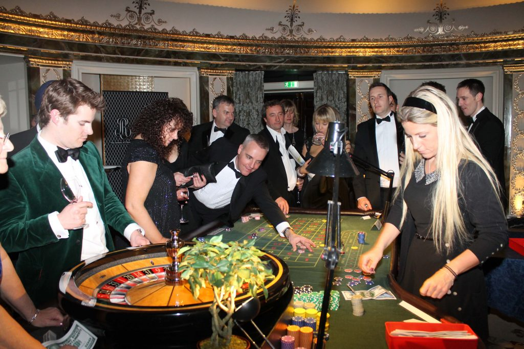 Revellers at the Benevolent ball, the charity's biggest fundraising event of the year