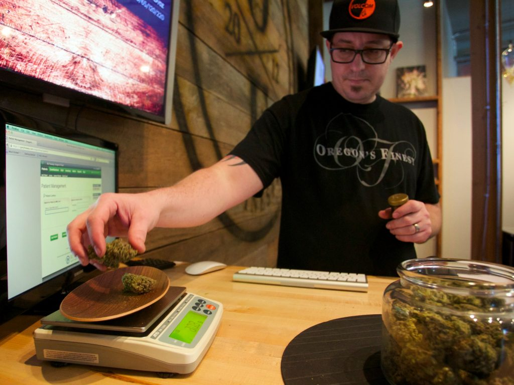 It's now possible to sell and buy cannabis for own use in nine US states