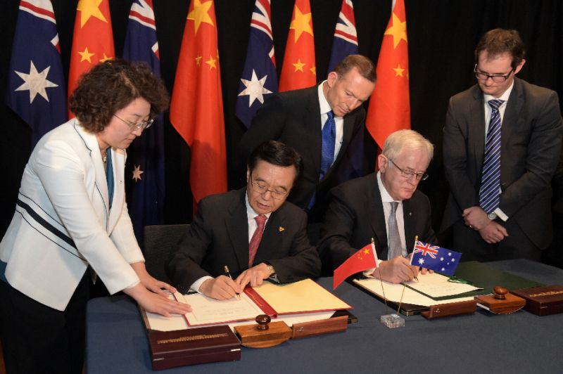 The Free Trade Agreement between China and Australia has been a massive boost to its wine industry