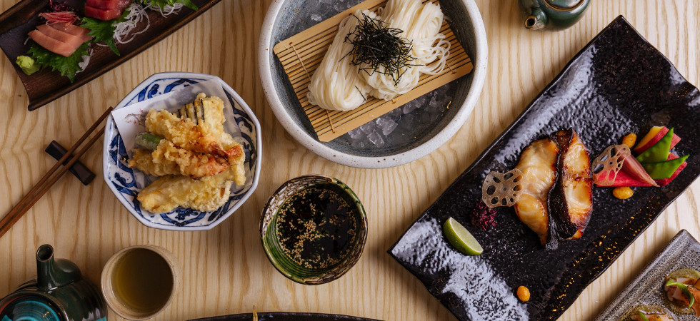 Ginza Onadera, host of the New Wines of Japan tasting, is one of the respected Japanese restaurants in London