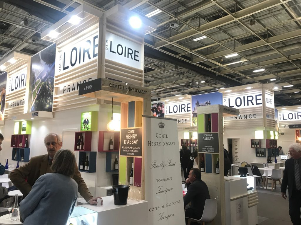 The Loire was a major focus of the second VinoVision event