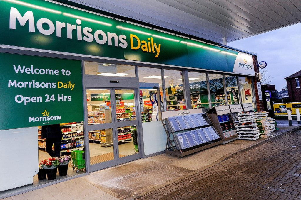 New look, c-store style Morrisons