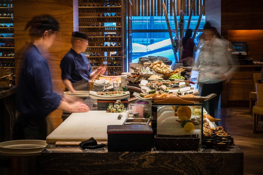 Koshu is not just the perfect partner to Japanese food like here at Roka
