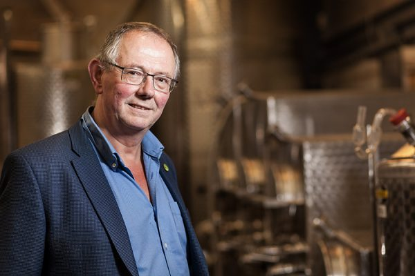Chris Foss, head of wine at Plumpton college