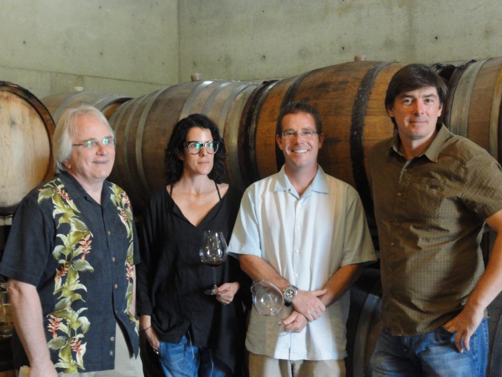 The team behind Antica Terra winery