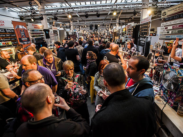 You'd do well to beat the hustle, bustle and atmosphere at Craft Beer Rising