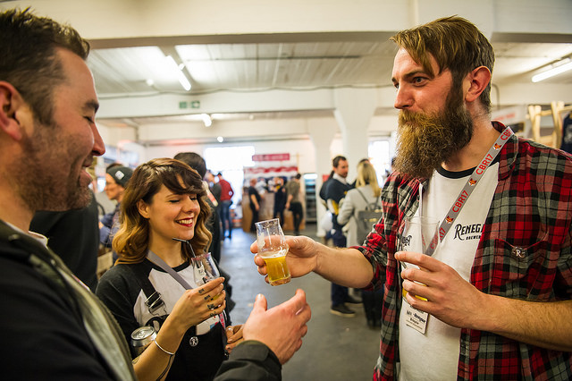 Thirsty for a drink, thirsty for knowledge and passionate about their beer at Craft Beer Rising