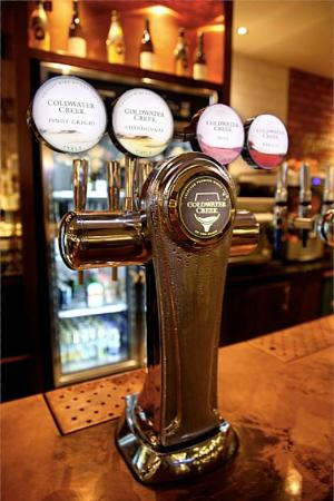 Draught wine has been a big success in Wetherspoon