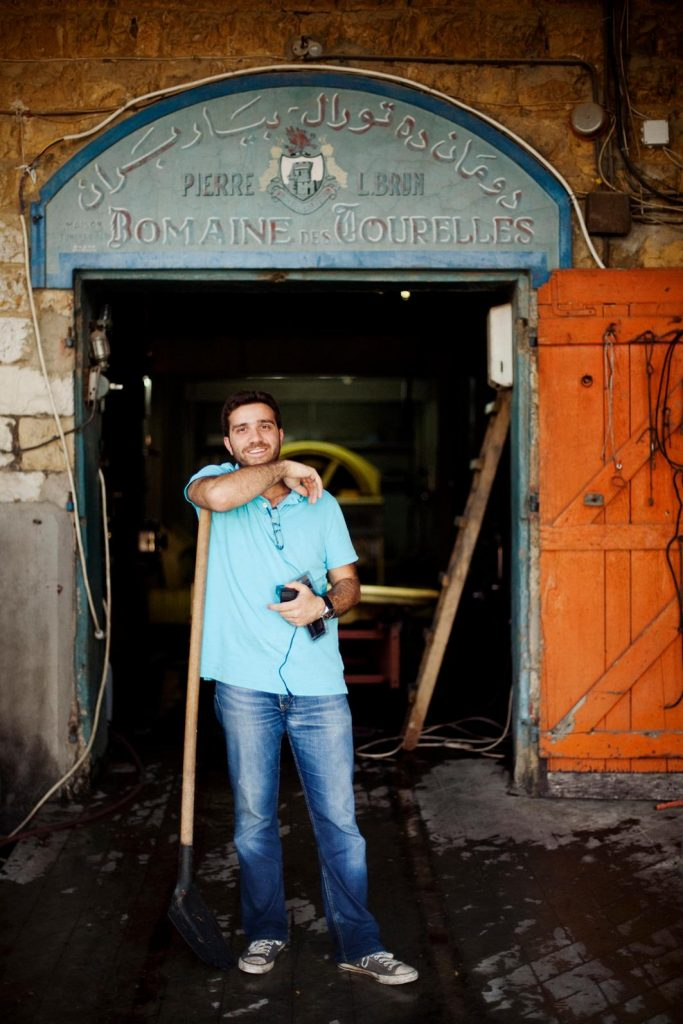 Faouzi Issa at Domaine des Tourelles: One of the world's most unique and beautiful wineries
