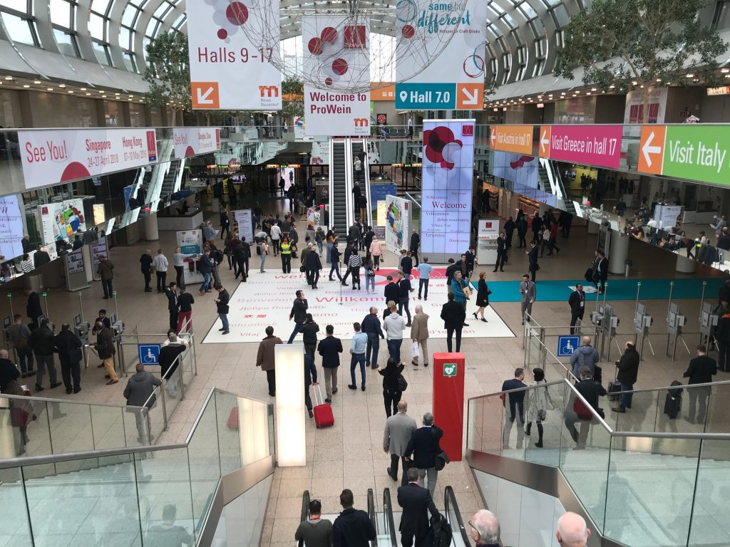 Prowein 2018 proved to be perfect timing for Conviviality to talk directly with its suppliers