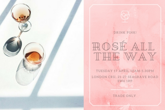Next weeks trade tasting in London will see eight producers showing over 30 of their rosés
