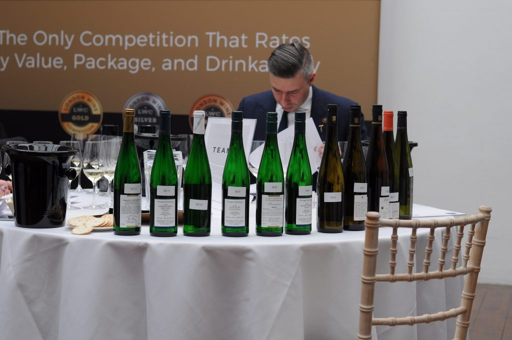 Judges for the London Wine Competition included leading sommeliers and trade wine buyers