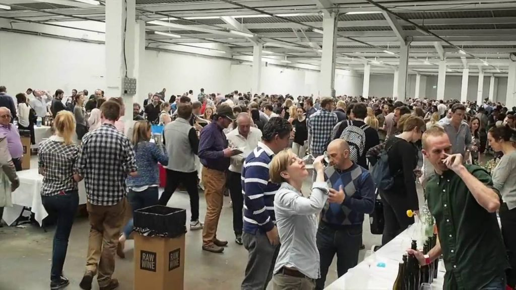 All in it together: the buzz of the RAW wine fair and the community it has created