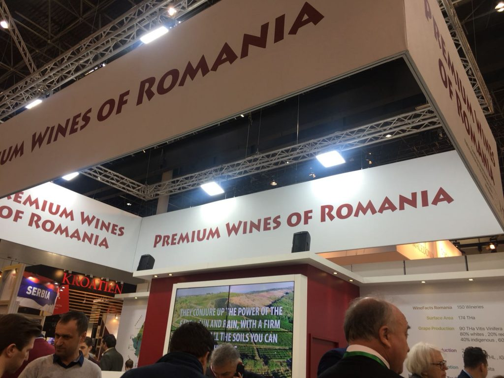 Premium Wines of Romania have been able to develop a stronger export presence thanks to their presence at major fairs like ProWein