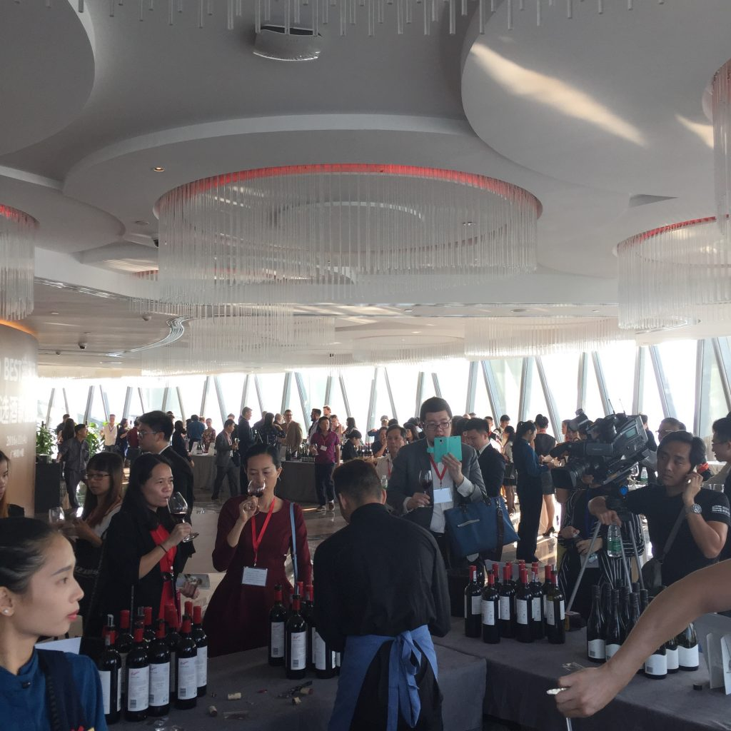 Jukes was blown away by the excitement for Australian wine in China