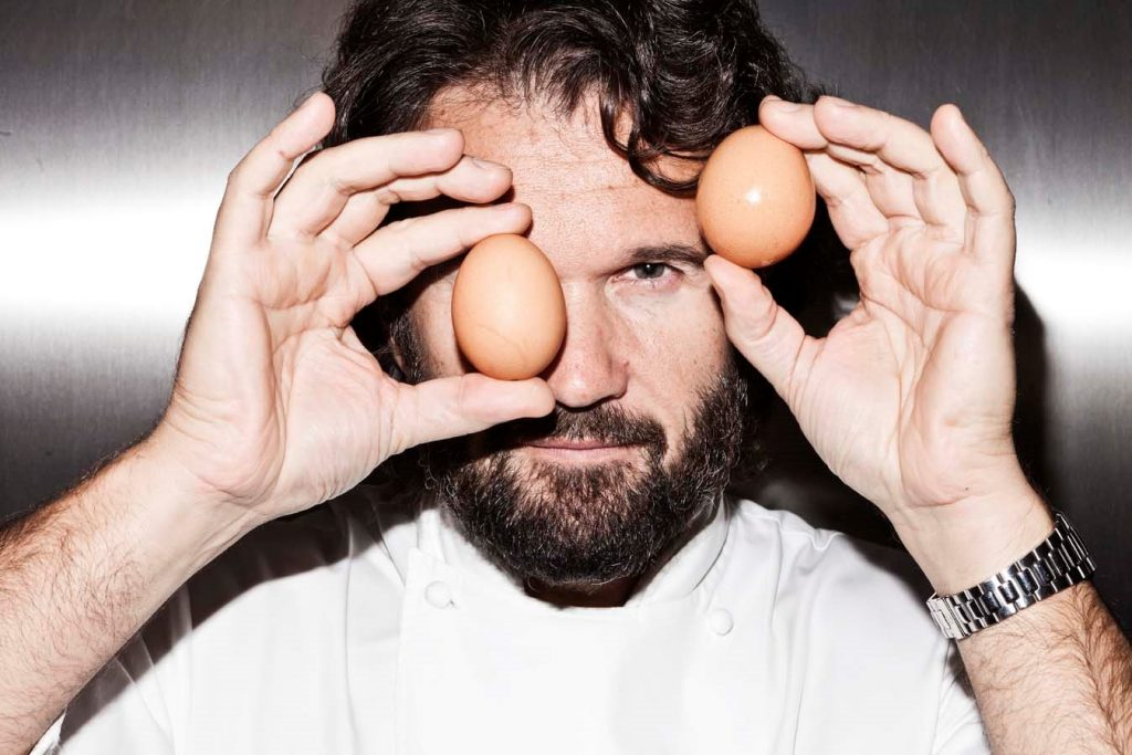 Leading Italian chef Cracco will be demonstrating the latest cuisine from Italy