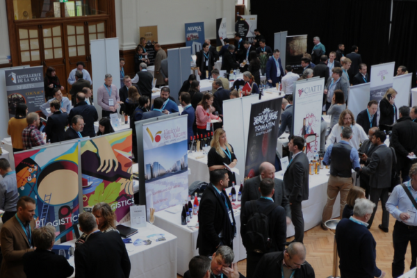 The trading floor at the first IBWSS show in London