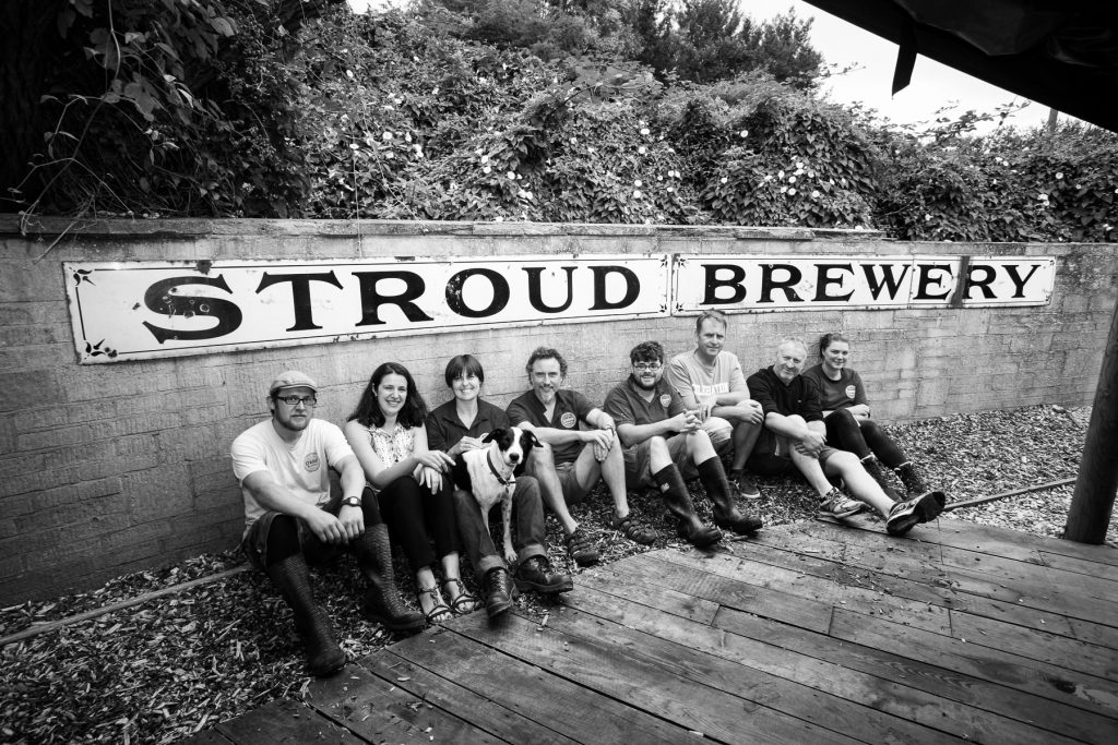 A small but growing team at Stroud Brewery