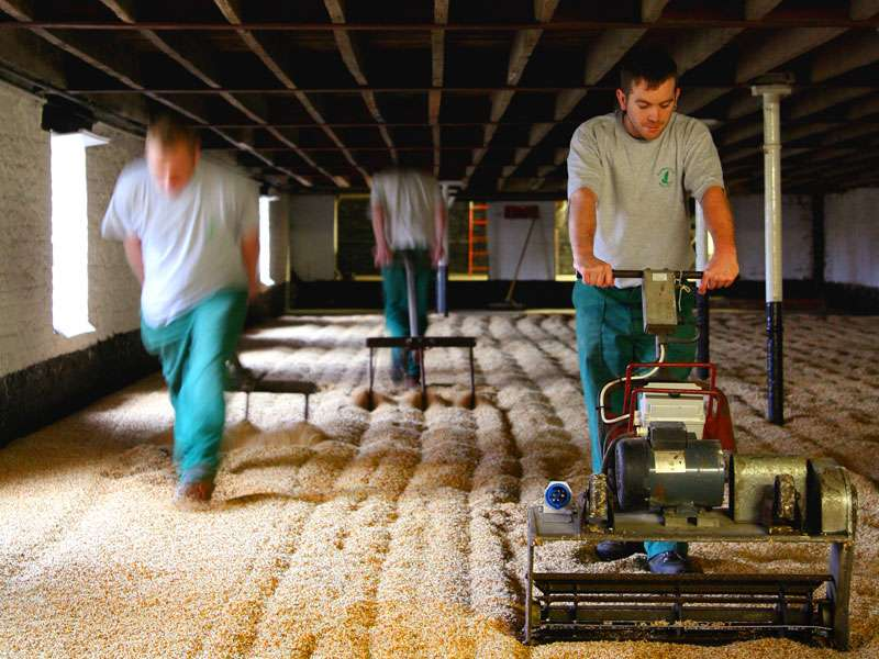 Traditional floor maltings from Warminster is one of the Stroud's key suppliers