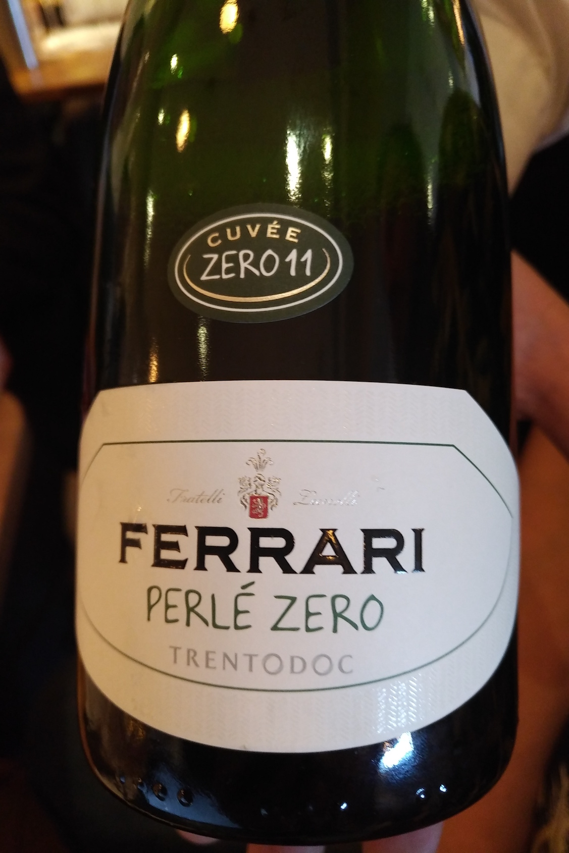 """With Perlé Zero we wanted to express fully the essence of Trento Chardonnay  – because this wine is naked,"" Lunelli declared. He explains that the  family ..."