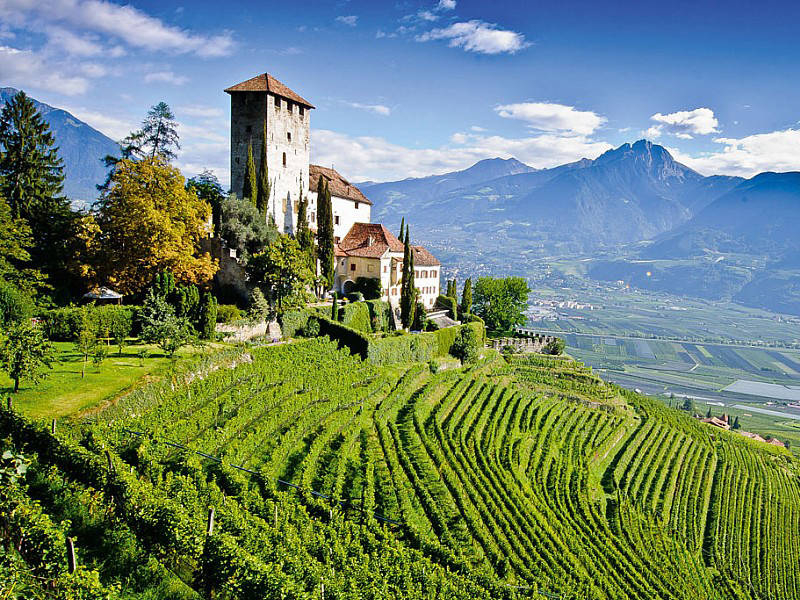 Alto Adige on the borders of Switzerland and Austria offers stunning scenery but also a host of lighter wine styles grown at altitude