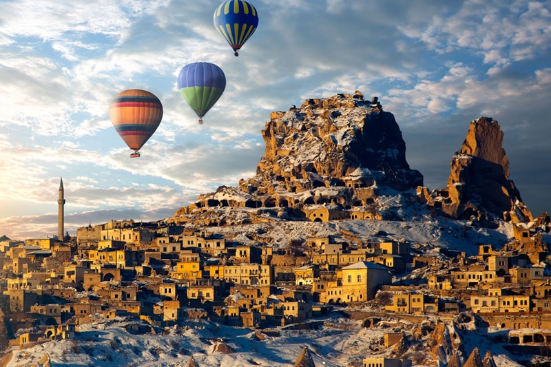 """It's easy to see why the stunning Anatolia region of Turkey is on Hudin's """"go to"""" list"""