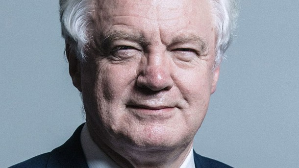 I'm out: Not out of the EU, but out of the Cabinet as David Davis has now resigned as Brexit Secretary