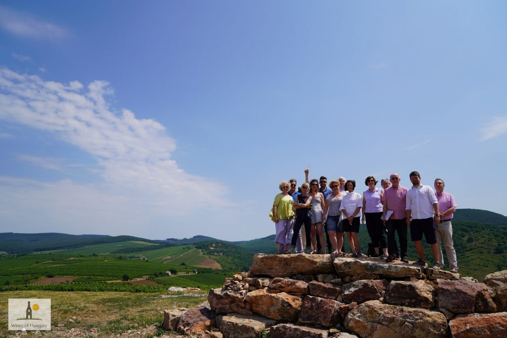 The UK buyers' trip was able to get a complete overview of Hungarian wine