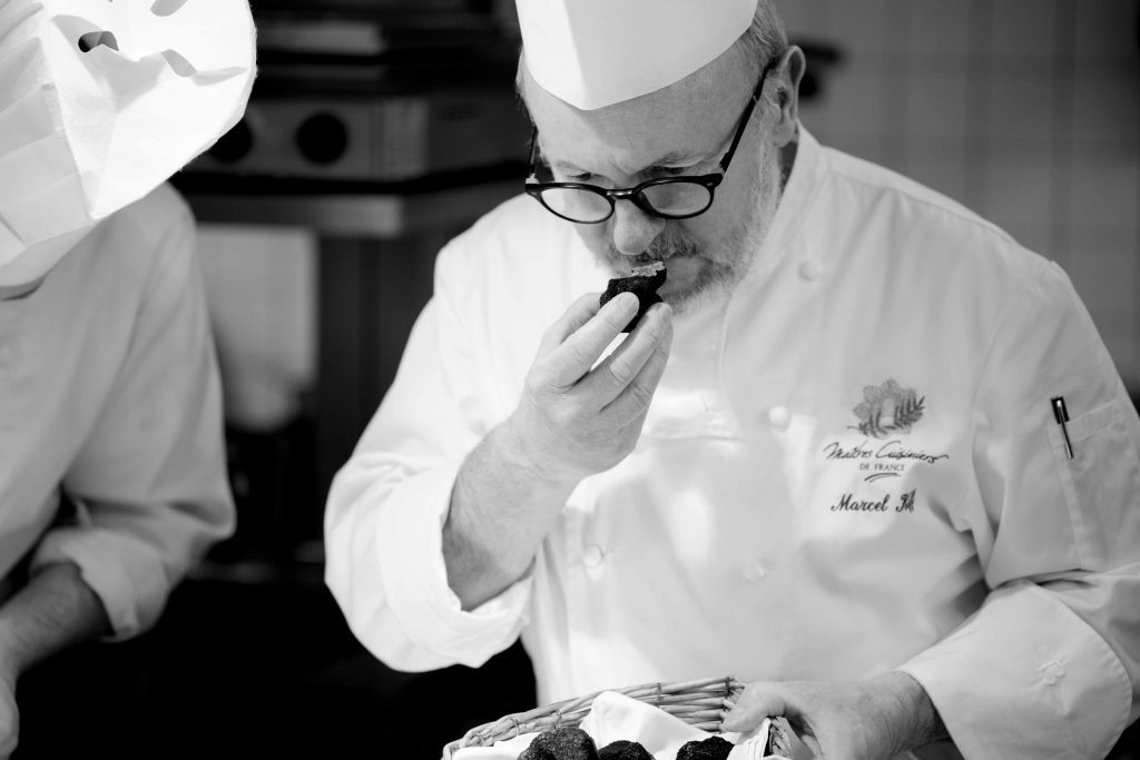 Michelin chef Marcel Keff offers great value for money for quality wines at his restaurant Lorraine Picture: Aji Magazine