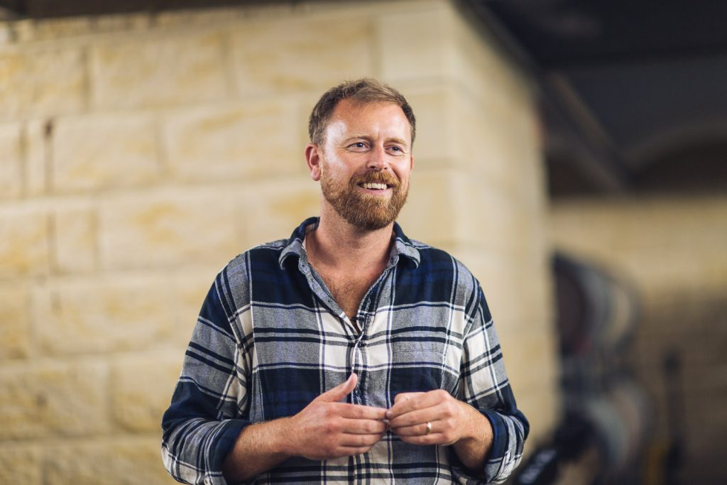 Mike Alyward still gets excited to see his wines on top restaurant lists