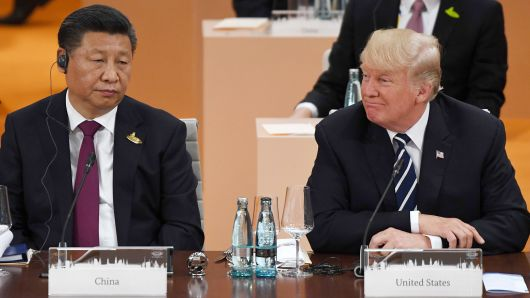 No smiles or handshakes when it comes to US/China trade relations