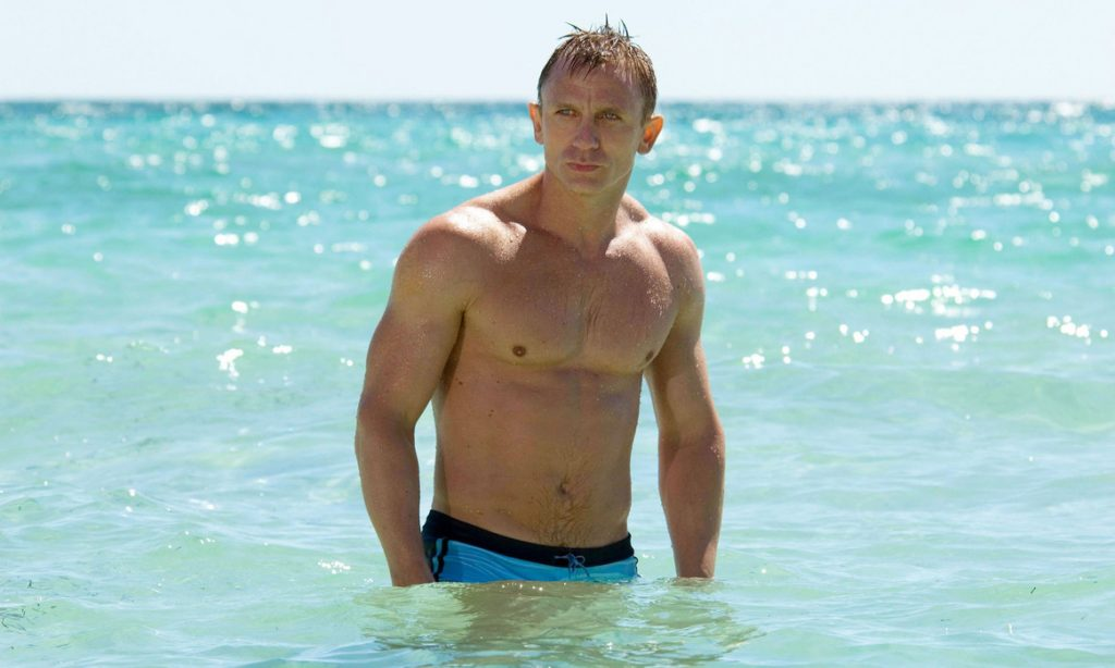 Only a few more months before Daniel Craig is back as Bond...