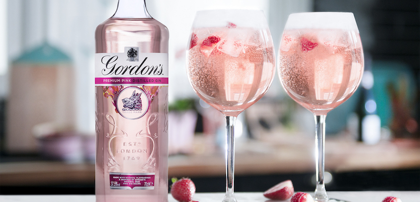 The success of Gordons Pink Gin shows how the spirits category is so open to innovation