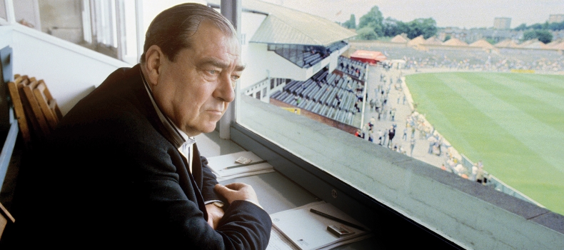 John Arlott: such a respected voice on the BBC's Test Match Special