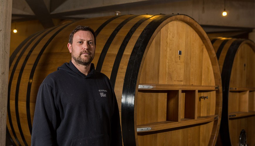 Kooyong's winemaker Glen Hanley looks to make precision wines
