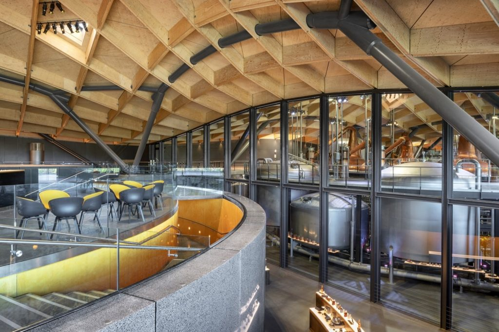 Grier is proud to have been part of the team that has helped build the new state-of-the- art Macallan Distillery