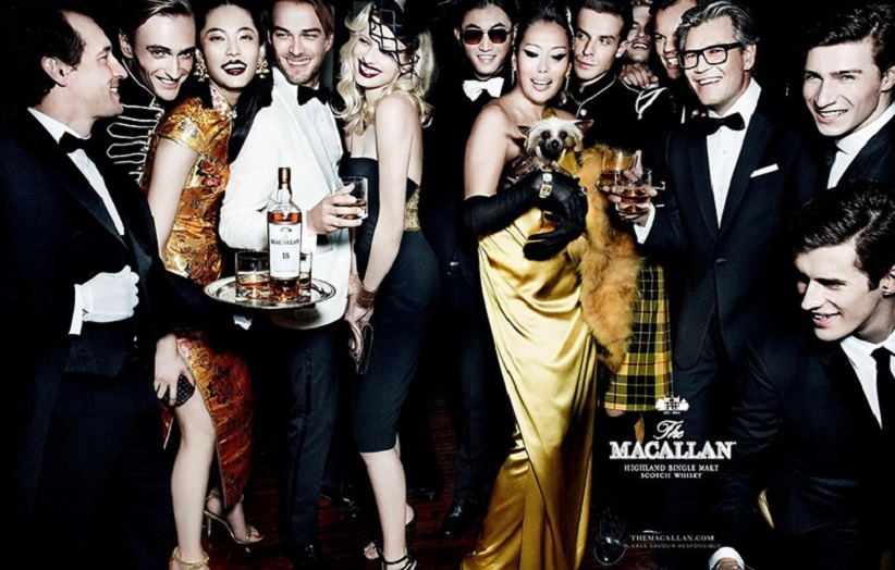 The Macallan has worked with a number of famous photographers like Mario Testino to help take the brand to a younger audience
