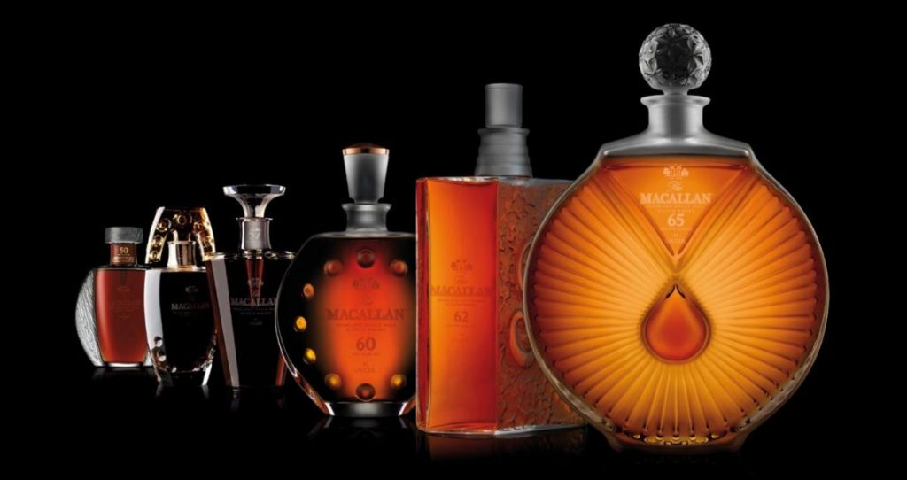 Grier has helped keep the allure and mystique around The Macallan with the launch of limited editions like the Lalique series