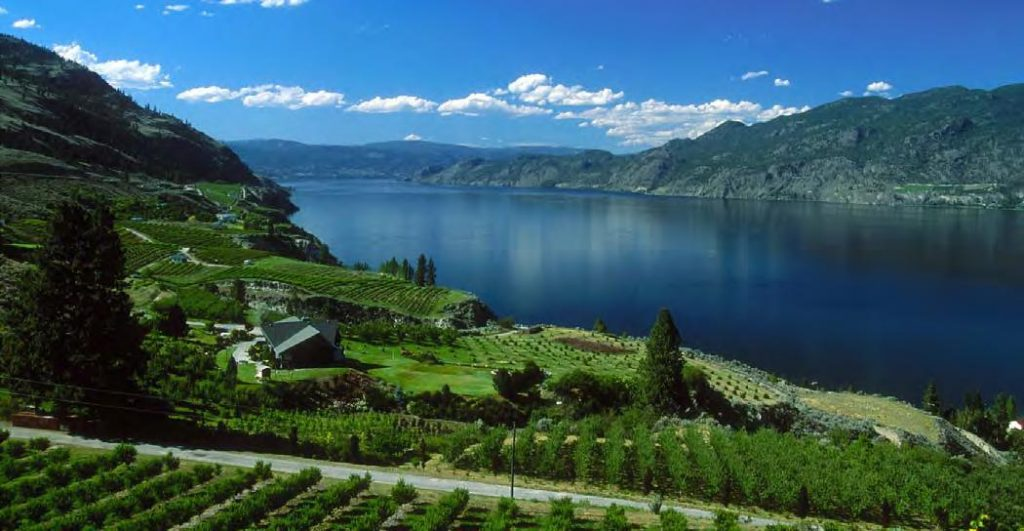 The glacial lake has such a significant influence on the wines of the Okanagan Valley