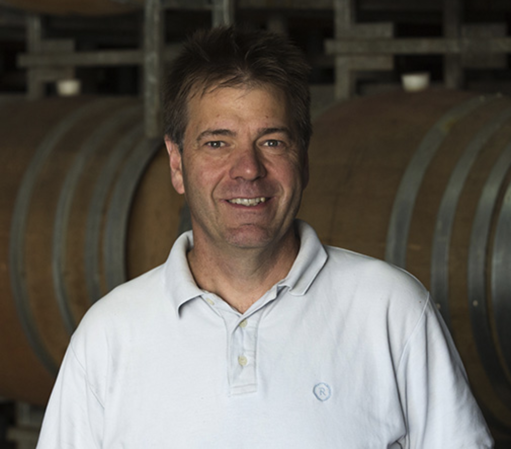 MIke Symons of Stonier Wines is proud of its pioneering past