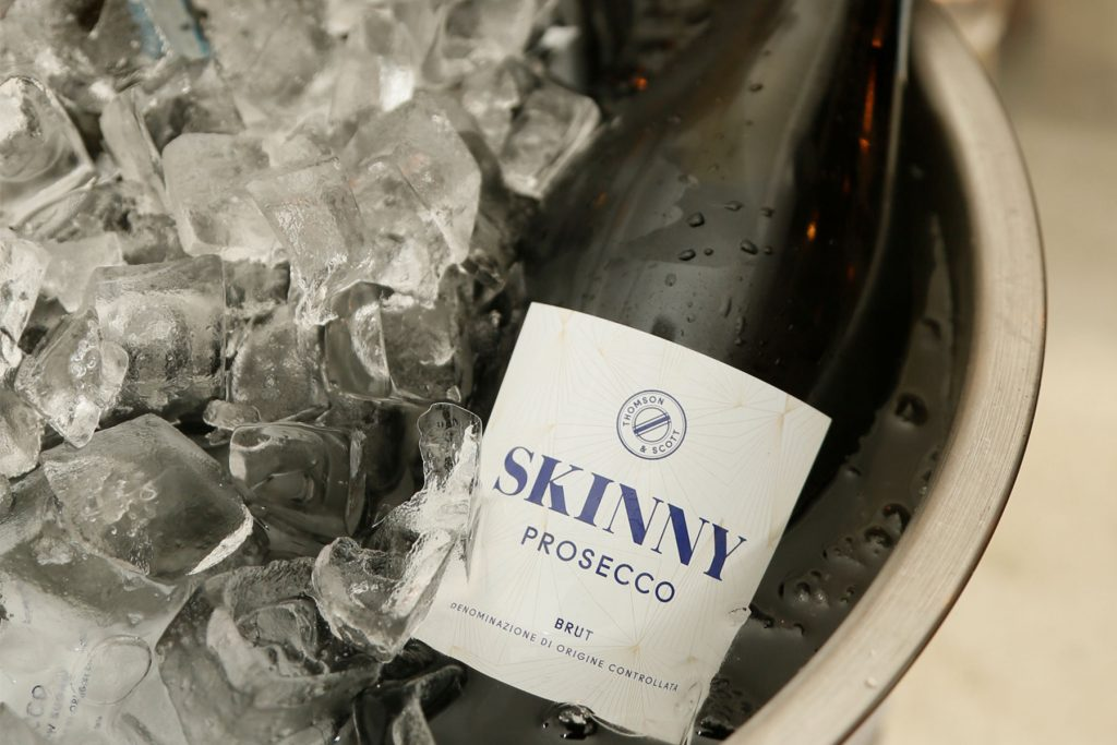 Thompson & Scott's Prosecco is still a best seller at the Coral Room, despite the emphasis on English sparkling wine