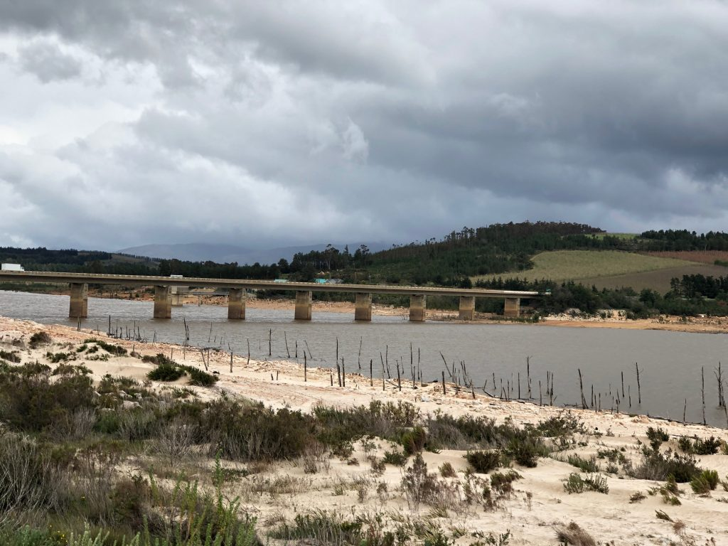 The Theewaterskloof dam in the northern central Cape is now 52.5% full and slowly recovering