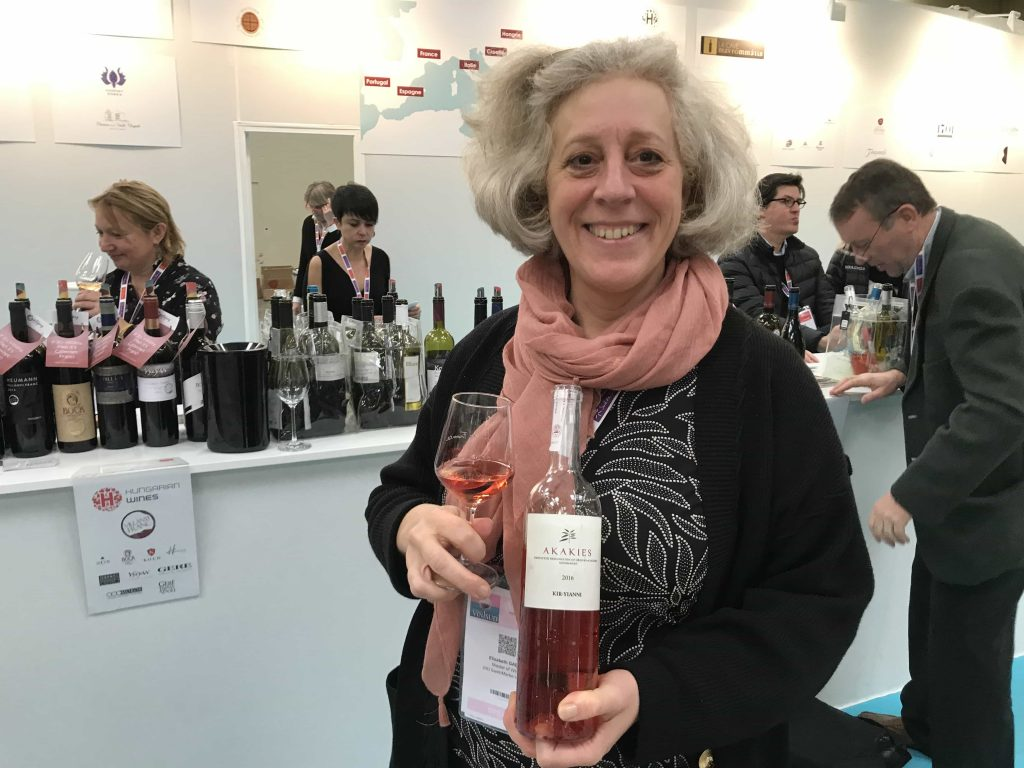 Discovering new rosés is part of the day job for Elizabeth Gabay MW