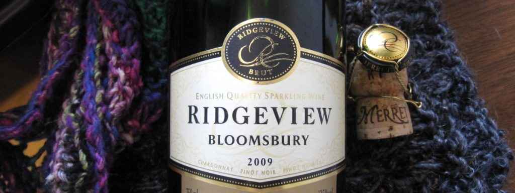 Ridgeview's Bloomsbury is the Coral Room's popular house pour