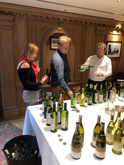 The idea of the benchmark tasting is to give Japanese producers direct feedback from influential buyers in the UK about how well their wines might do against their world competition