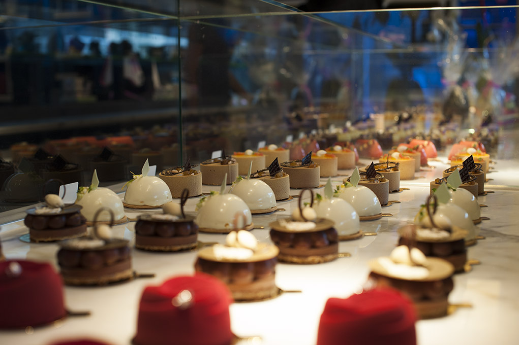 Parkinson helped create a special sweet dessert drinks list, the Liquid Sweet shop at Yauatcha Soho